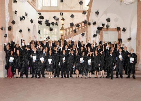 The Class of 2011 graduation ceremony